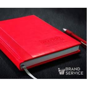 Ежедневник с тиснением логотипа