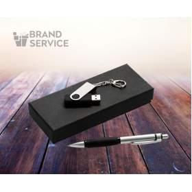 Подарочный Набор: ручка и флешка с логотипом