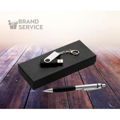 Подарочный набор: флешка с ручкой