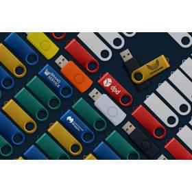 Флешка Color с гравировкой символики