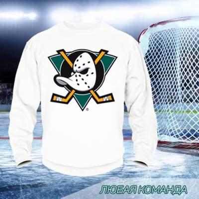 Свитшот с логотипом хоккейной команды