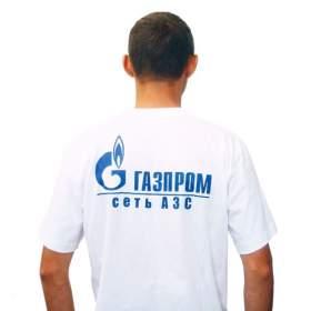 Промо футболка белая