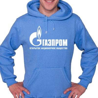 Толстовка с логотипом компании