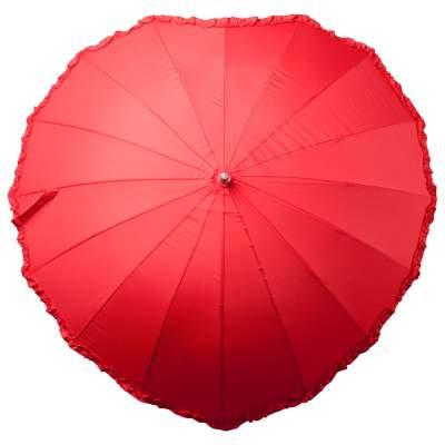 Купить Зонт-трость «Сердце» с нанесением 490р.