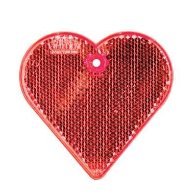 Купить Пешеходный светоотражатель «Сердце» с нанесением 40р.