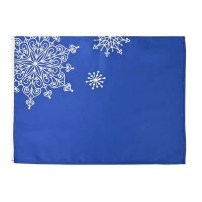 Купить Декоративная салфетка «Снежинки» с нанесением 220р.