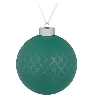 Купить Елочный шар King, 10 см с нанесением 220р.