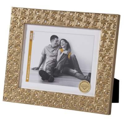Купить Рамка для фотографий Gold, золотистая с нанесением 5731р.