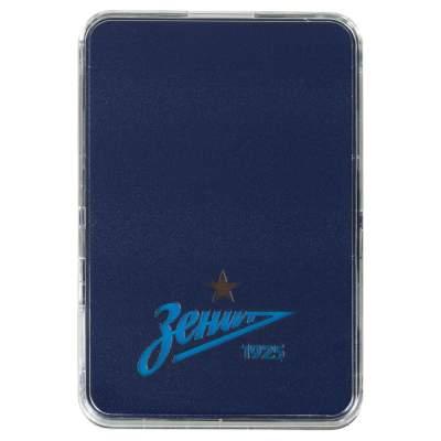 Купить Внешний аккумулятор с подсветкой логотипа «Зенит», 3000 мАч с нанесением 749р.