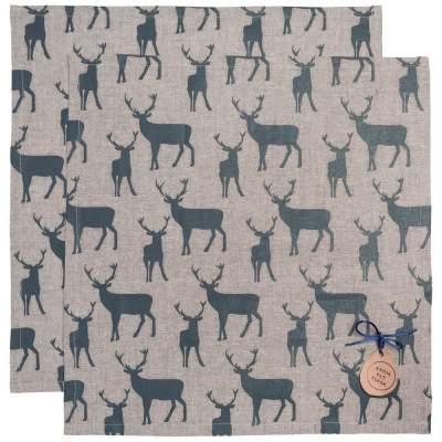 Купить Набор салфеток «Северный олень» с нанесением 1500р.