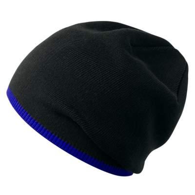 Шапка Best, черно-синяя