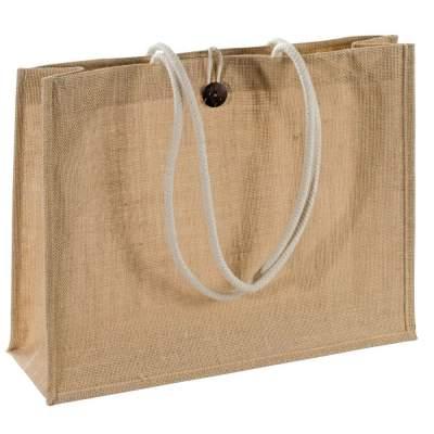 Купить Холщовая сумка на плечо Grocery с нанесением 390р.