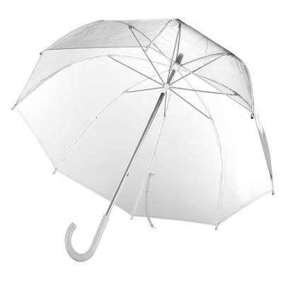 Купить Прозрачный зонт-трость Clear с нанесением 659р.
