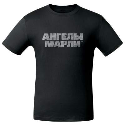Футболка «Ангелы марли», черная