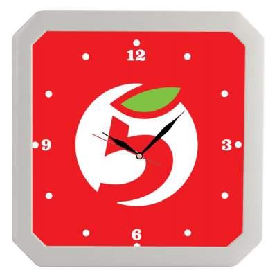 Купить Часы настенные «Квадро» с нанесением 449р.