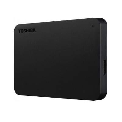 Внешний диск Toshiba Canvio, USB 3.0, 1Тб, черный
