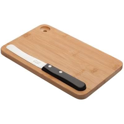 Купить Разделочная доска и нож Fruhstuck с нанесением 1250р.