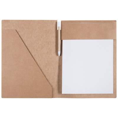Купить Папка Fact-Folder формата А4 c блокнотом с нанесением 285р.