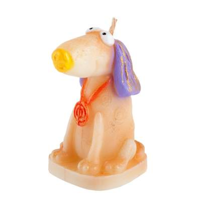 Свеча «Веселая собака»