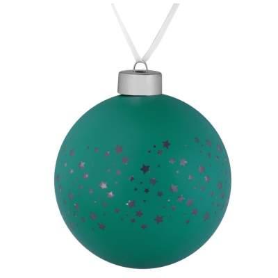 Купить Елочный шар Stars, 10 см с нанесением 220р.
