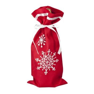 Купить Чехол для шампанского «Снежинки» с нанесением 195р.