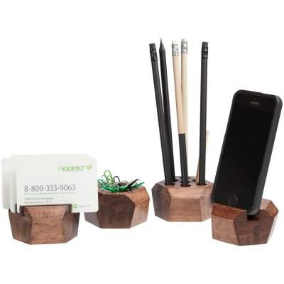 Купить Набор настольный Wood Job с нанесением 2390р.