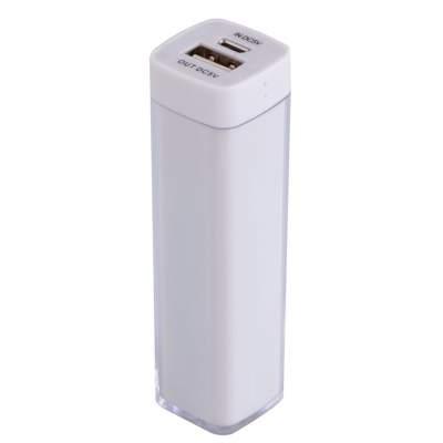 Купить Bнешний аккумулятор Bar, 2200 mAh, ver.2 с нанесением 299р.