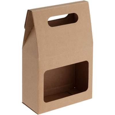 Купить Коробка с окошком с нанесением 35р.