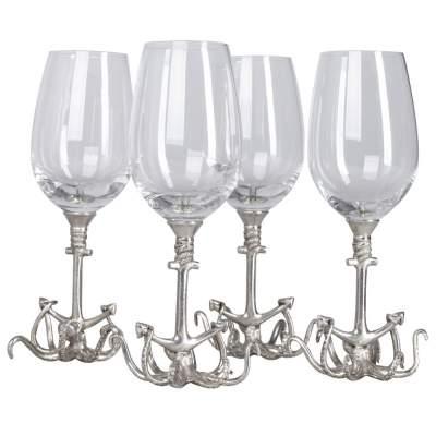 Купить Набор бокалов для вина Sea Life с нанесением 7975р.