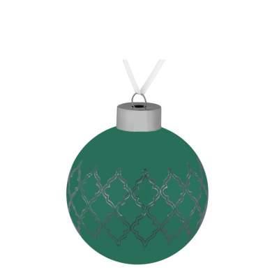 Елочный шар King, 8 см, зеленый