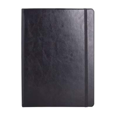 Блокнот Freenote, в клетку, черный