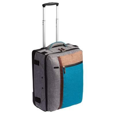 Купить Складной чемодан на колесах «Санто-Доминго» с нанесением 6490р.