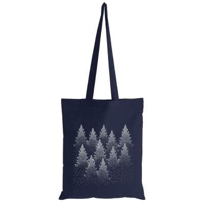 Купить Холщовая сумка Silver Christmas с нанесением 290р.