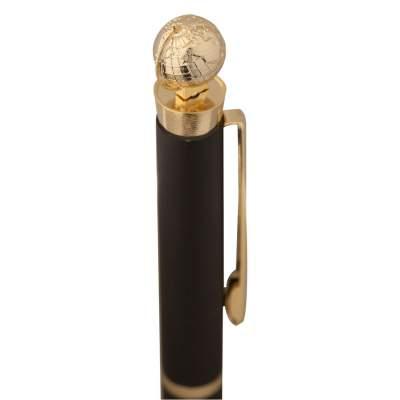 Купить Ручка шариковая Globe Golden Top с нанесением 577р.
