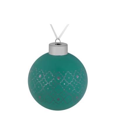 Купить Елочный шар Chain, 8 см с нанесением 160р.