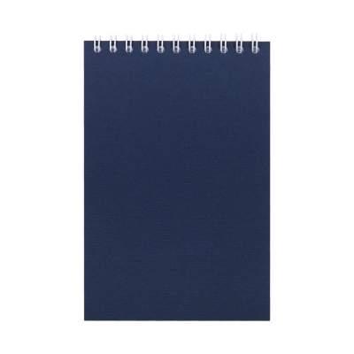 Блокнот Nettuno mini в клетку, синий