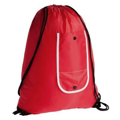 Рюкзак складной Unit Roll, красный