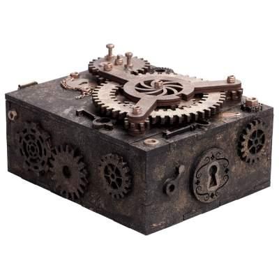 Купить Шкатулка с секретом Gearbox с нанесением 3690р.