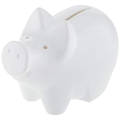 Свинья-копилка Charmy, белая