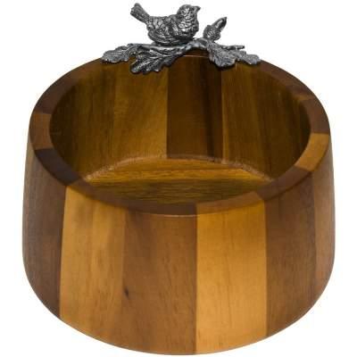Купить Орешница-конфетница «Певчая птичка» с нанесением 3414р.
