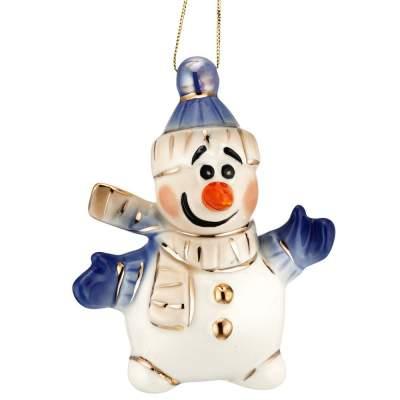 Купить Фарфоровая елочная игрушка Olaf с нанесением 1860р.
