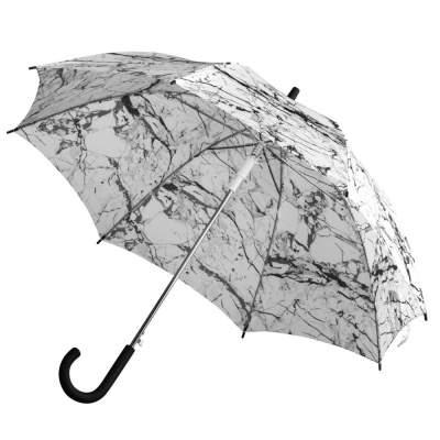 Купить Зонт-трость Marble с нанесением 650р.