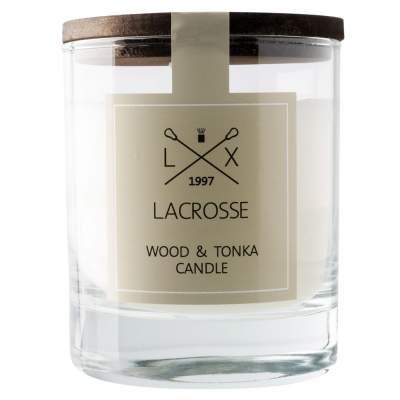 Купить Свеча ароматическая Wood & Tonka с нанесением 1150р.