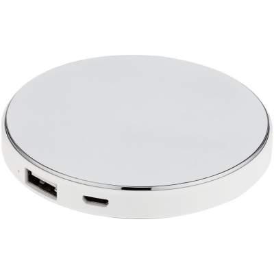 Купить Внешний аккумулятор с подсветкой логотипа Uniscend Disc, 3000 мАч с нанесением 1049р.