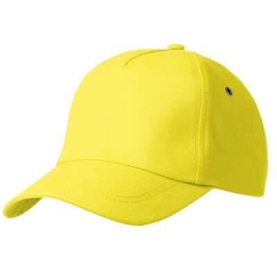 Бейсболка Bizbolka Match, желтая