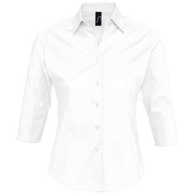 Рубашка женская с рукавом 3/4 EFFECT 140, белая