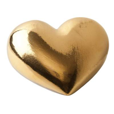 Купить Фарфоровое сердце Golden Heart с нанесением 3404р.
