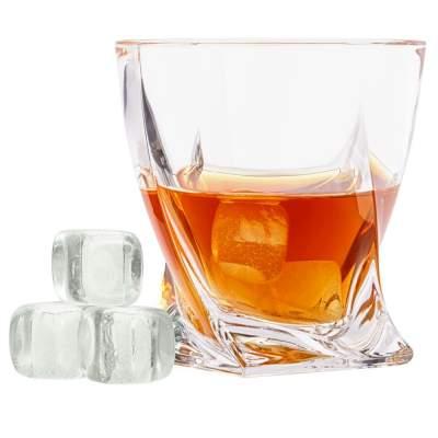 Купить Камни для охлаждения напитков Crystal Rocks с нанесением 1100р.