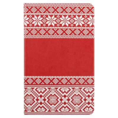 Блокнот «Скандик», красный