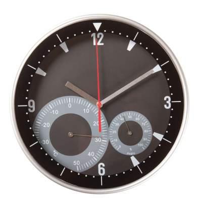 Купить Часы настенные с термометром и гигрометром с нанесением 1289р.
